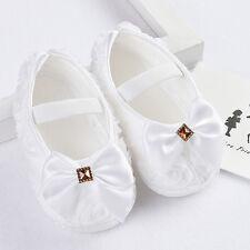 Infantil Bebé LAzo Zapatos de cuna Recién Nacido Sin andar ANTI-DESLIZANTE