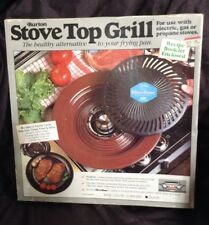 NEW! (1 ea) Never Used Burton Stove Top Grill for use with Propane or Gas Stoves