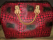 Kusama Speedy rojo Bag Louis Vuitton