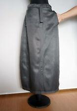 Annette Gortz Grau Lang Brennessel+Seide Skirt  Rock,gr. 36