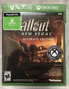 NEW Fallout New Vegas Ultimate Edition Xbox One / Xbox 360 / Series X Rated M