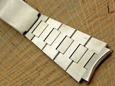 Baldwin Mens Vintage Watch Band 20mm Deployment Stainless Steel Unused NOS