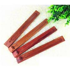 Wood Incense Stick Burner Holder Handmade Joss Insence Stand Ash Catcher