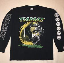 TIAMAT 1997 'A Deeper Kind Of Slumber' Rare Long-Sleeve Shirt XL USA