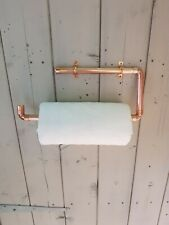 Copper Pipe Kitchen Towel/ Roll Holder
