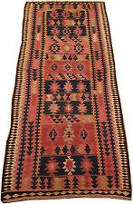 vieux kurde Kelim Harsin 306 x 127 cm kélim carpette tribale