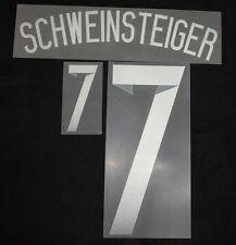 DFB Deutschland Schweinsteiger Flock für Adidas Away Trikot WM2014 Quali EM2016