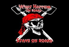 PIRATE what happens on board FLAG 5 X 3 JOLLY ROGER