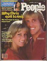 1980 People February 4-Donna Summer, Chris Evert