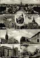 HILDESHEIM 1965 Mehrbild-Postkarte ua. Dom Kirche Kehrwieder-Turm Palais uvm.