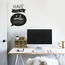 PVC Creative Good Day Wall Stickers Waterproof DIY Home Background Art Decal