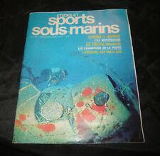 Etudes Et Sports Sous-Marins N° 35 la plongée marine
