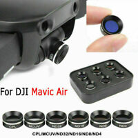 For DJI Mavic Air Drone ND32 ND16 ND8 ND4 CPL MCUV Camera Polarizer Lens Filters