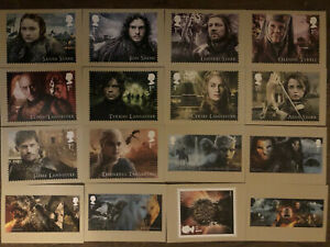 Game of Thrones 2018 Mint Set of 16 PHQ cards still sealed