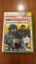 Counter-Strike - Platinum Hits (Microsoft Xbox, 2004) MINT COMPLETE! MAIL TOMORR