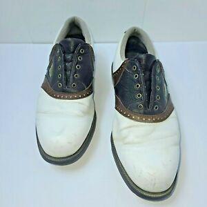 Men's USA Size 11 Wide Footjoy Gel Fusion Golf Shoes