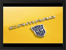 CHEVROLET CAMARO TRANSFORMERS BUMBLEBEE NEW A3 FRAMED PHOTOGRAPHIC PRINT POSTER