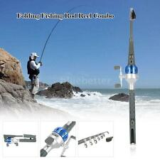 151cm Mini Carp Fishing Rod Telescopic Pole Rod Reel Combo Lures Line 2018 U0Q8