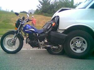 Yamaha TW200 Rear Motorcycle Rack