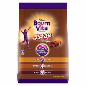 Bournvita Cadbury 5 Star Magic Health Drink For Inner Strength Formula,750Gm,1Pc