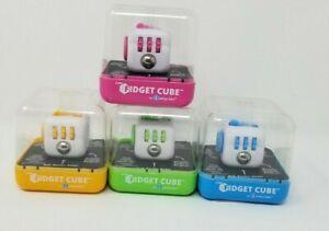 Lot of 4 Zuru Original Fidget Cube by Antsy Labs Various Colors as Shown