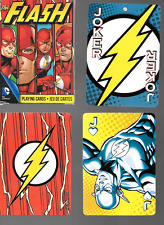 DC Comics The Flash Deck of Playing Poker Cards Used Nice Complete Aquarius