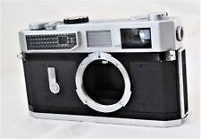 Canon Model 7 Rangefinder Camera Leica Screw Mount w Case Excellent-