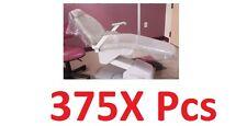 """375 Pcs Starryshine Dental Full Chair Cover Sleeve 29""""X80"""" Clear Plastic Slip On"""
