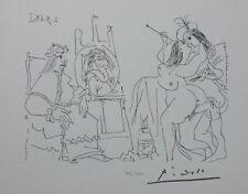 PICASSO (d'après) - Le pape assis et surpris - LITHOGRAPHIE signée #1200ex