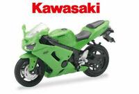 Kawasaki ZX 6 R 1:18 Die-Cast Motorcycle Motorbike Toy Model Bike Green NEW RAY