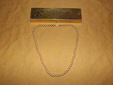 """VINTAGE  JEWELRY  1960S SARAH COVENTRY FAUX PEARL 24"""" NECKLACE"""