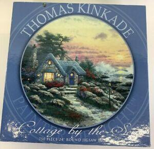 NEW Sealed Thomas Kinkade Painter Of Light Jigsaw Puzzle Cottage By The Sea