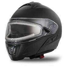Arctic Cat Modular Snowmobile Helmet with Electric Shield Black Medium 5252-512