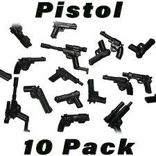 LEGO Guns Pistol Lot Handgun Randomized Custom SWAT Police Military Army Bulk