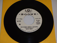 BUCK TRENT The World needs a washin / five string general 45 BOONE 1076 NM PROMO