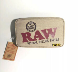 RAW Large Smell Proof Zip Bag - Odour Protection Smokers Pouch