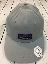 PATAGONIA P-6 Trad Cap Drifter Gray Dad Hat Slouch Strap Back One Size Unisex