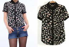 Chiffon Clubwear Unbranded Regular Tops & Blouses for Women