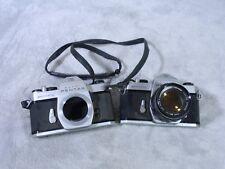 2-Pentax Camera Spotmatic SP II Film SLR w/ Asahi Takumar 50mm f/1.4 Lens