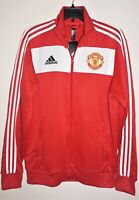 Adidas Manchester United FC Red Track Jacket Top FR3849 EPL Men's M NWT