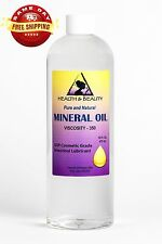 MINERAL OIL 350 VISCOSITY NF USP GRADE LUBRICANT by H&B Oils Center PURE 48 OZ