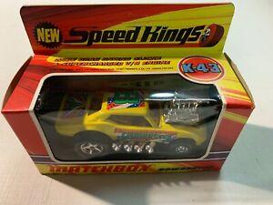 Coche Matchbox Sk K43 1973 Cambuster yellows Mirrors