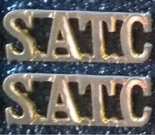 SATC - SA Transport Corps WW II Shoulder Title Set ® - UDF