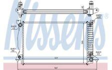 NISSENS Radiador, refrigeración del motor AUDI A4 60314A