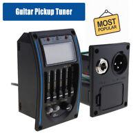 5 Band EQ Equalizer Tonabnehmer Pickup Tuner Stimmgeraet fuer Akustik Gitarre
