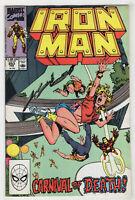 Iron Man #253 (Feb 1990, Marvel) Danny Fingeroth, Gene Colan, John Byrne