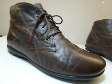 THINK 87760 KONG Herren Schuhe Stiefel Boots Leder LAMMFELL Germany Gr.45 TOP
