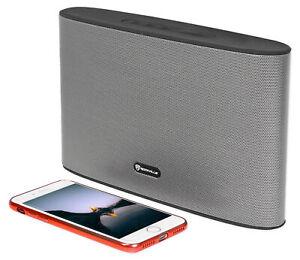 Rockville RockWave Rechargeable Portable Slim Bluetooth Speaker w/USB/TF/FM