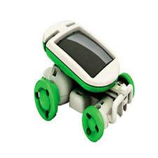 6 in 1 Creative DIY Educational Learning Power Solar Robot Kit Kids Toys