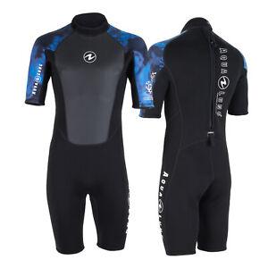 AquaLung Hydroflex Herren Shorty schwarz-blau